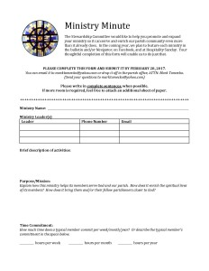 Ministry Minute_form_Page_1